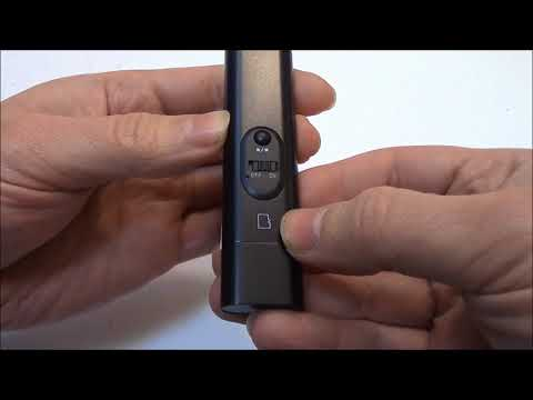 The GD2705 Mini Video Recorder Instructions Review And Unboxing