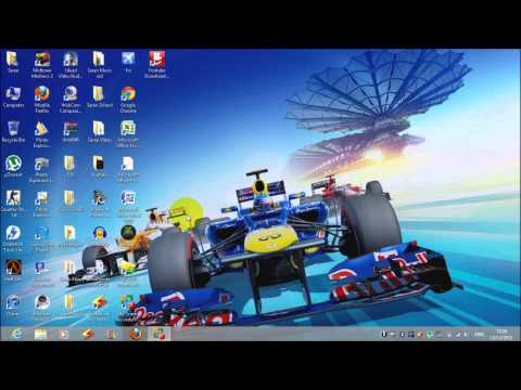How to put icons on desktop - Windows 8 Tutorial