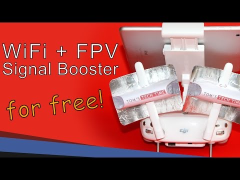 How to make a WiFi / FPV Range Extender | Video Tutorial