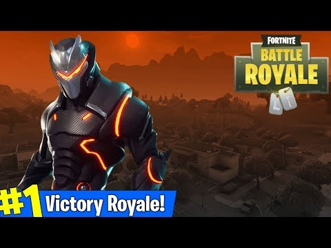FORTNITE MAX OMEGA OUTFIT GRIND + GETTING WINS! (AMAZING FORTNITE PLAYER)