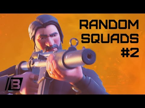 FORTNITE: Random squads #2 - All alone in this world - 11 opponents - victory!