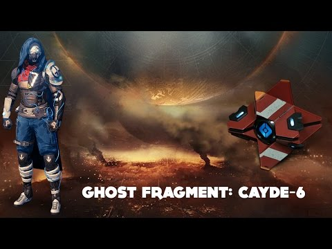 Ghost Fragment: Cayde-6 (Destiny Dead Ghost Age of Triumph)