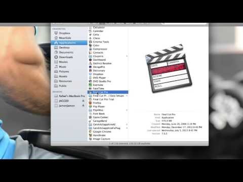 How to Extract Audio From Quicktime Videos in Apple : Using Apple Products