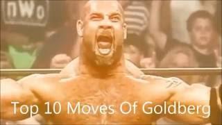 Top 10 Moves Of Goldberg
