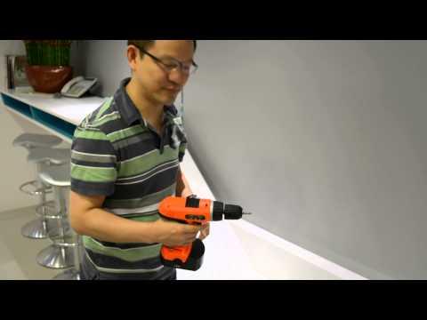 tempered glass driller