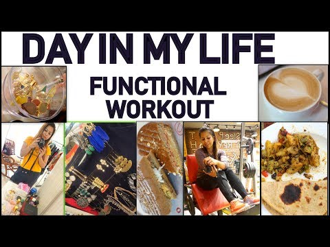 Day in My Life: Fat to Fab Weekly VLog #7 | Best Functional Workout & Jewelry Shopping VLog
