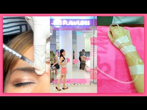 Gluta Injection and Pimple Injection at Flawless! (IS IT SAFE?!)