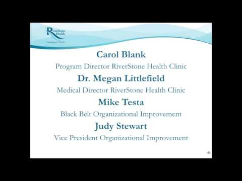 Improving Clinic Workflow Efficiency with Lean Six Sigma Methodology pt1 - Mike Testa, Judy Stewart