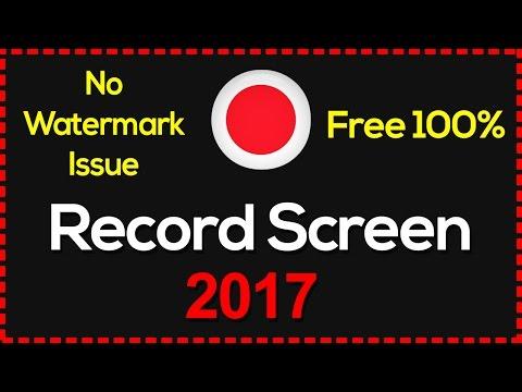 Top 3 Best Computer Screen Recording Software 2017(No watermark, No limit)