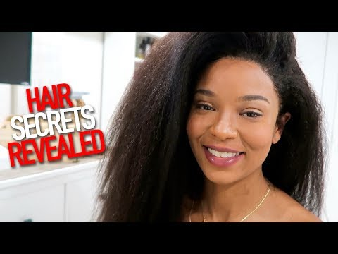 LOU REVEALS WHY HER HAIR LOOKS SO REAL - KINKY BLOWOUT feat. HERGIVENHAIR