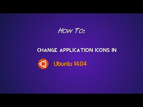 How to: Change Application Icons in Ubuntu 14.04