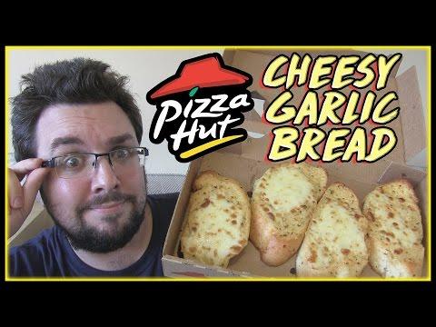 Pizza Hut Cheesy Garlic Bread Review