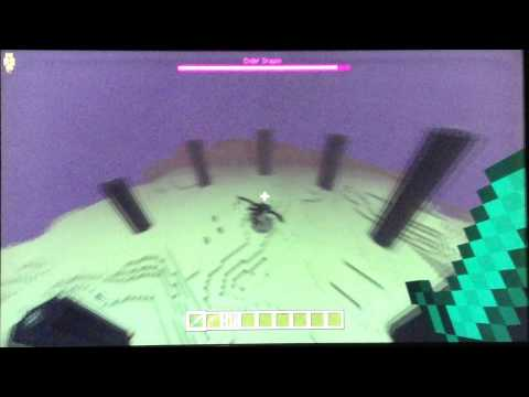 Minecraft PS3/PS4/xbox360/xboxone how to build an end portal and get the dragon egg