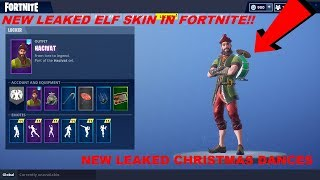 New Elf Leaked Skin Coming To Fortnite Christmas Skins Not Coming