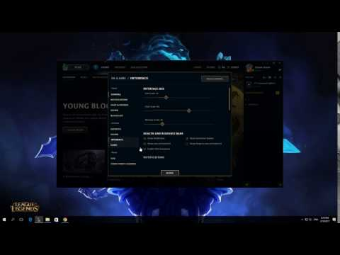 How To Hide Summoner Names In League Of Legends Client 2017