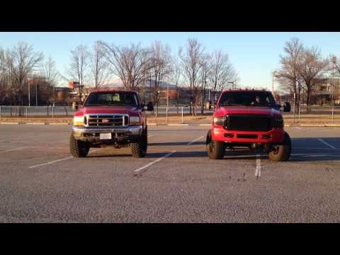 7.3 and 6.0 Rolling Coal