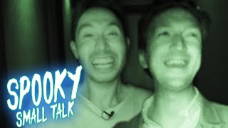 Ryan Interviews Shane in a Haunted House • Spooky Small Talk