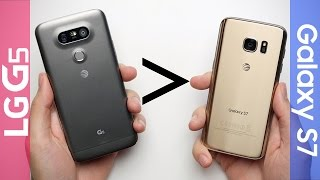 15 Reasons Why LG G5 Is Better Than Galaxy S7