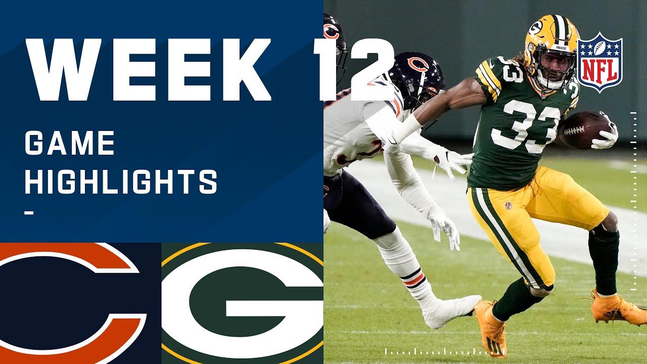 Bears vs. Packers Week 12 Highlights | NFL 2020