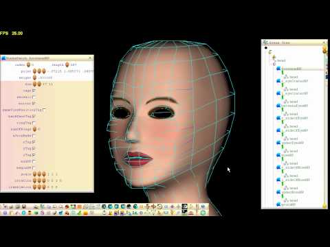 Modeling a Face From a Pre-Stitched NURBS Patch Structure Using Free 3D Software