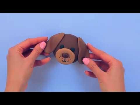 Dog Fondant Cupcake Tutorial