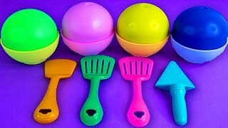 Play Doh Ice Cream Cups Baby Cute Learn Colors Surprise Toys Disney Cars Surprise Eggs