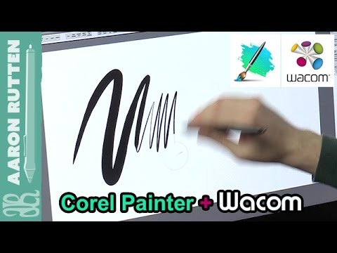 Making the Most of Corel Painter & Your Wacom Tablet: Pressure Calibration (1 of 5)