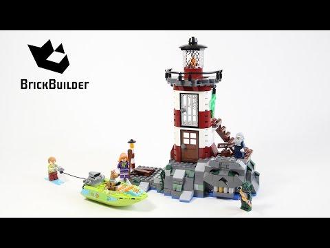 Lego Scooby-Doo 75903 Haunted Lighthouse - Lego Speed Build