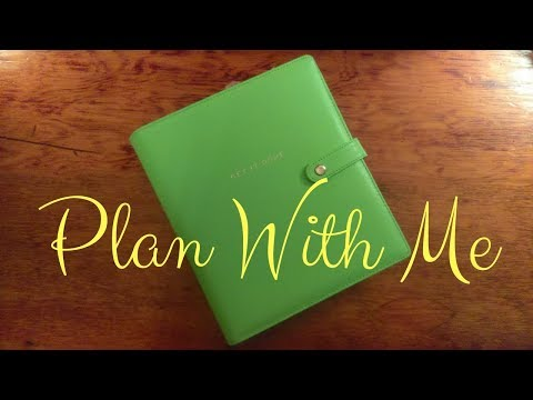Plan With Me June 4th Through 10th 2018  Featuring So Cute Planner Classic Happy Planner