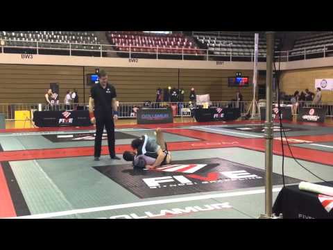 Tony garza five grappling
