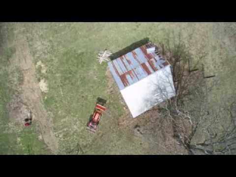 Barn Tear Down - Part 3 (The Barn Goes Down)
