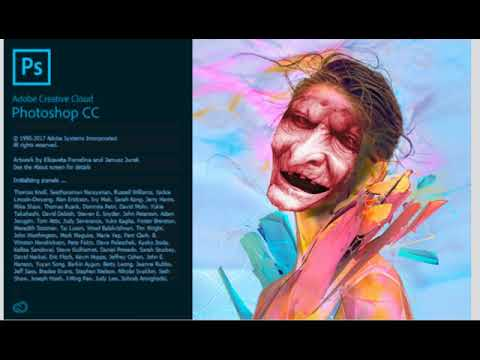 Adobe Photoshop CC 2018 SPLASH SCREEN İMAGE