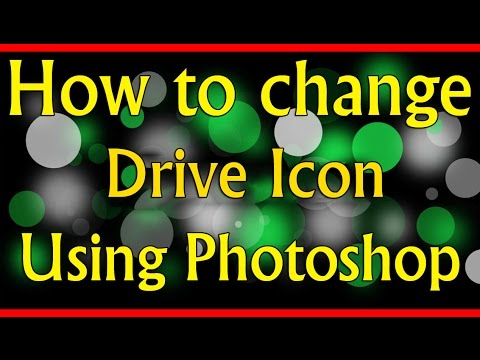 How to change windows drive icon - using Photoshop CC