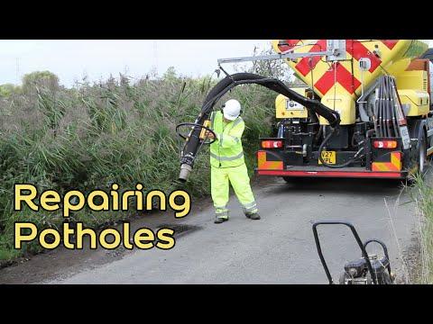 Repairing Potholes Process - Velocity Patching