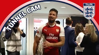 Tunnel Cam - Arsenal vs Chelsea - FA Community Shield | Inside Access