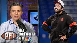 Are Baker Mayfield's comments on Daniel Jones true to form? | Pro Football Talk | NBC Sports
