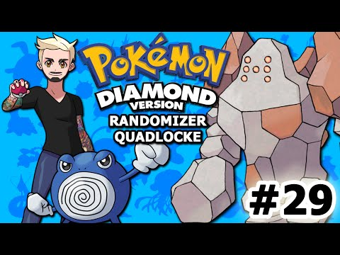 TIME TO REGIROCK AND... OH, WAIT... | Pokémon Diamond Randomizer Quadlocke Part 29