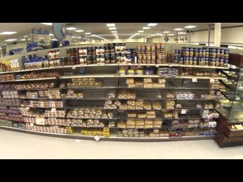 Bread aisles get wiped out before big snow storm