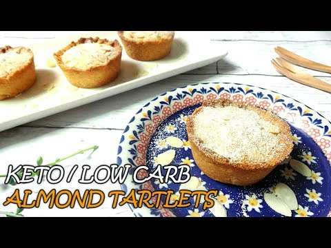 Keto / Low Carb / Gluten Free / Almond Tartlets