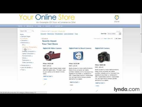 Previewing finished projects, ecommerce php framework,