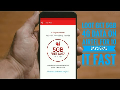 How to get 5Gb Free Data on Airtel Latest New Loot & New trick of 2018