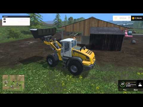 farming Simulator 15 Manure tutorial ( Greenhouses )
