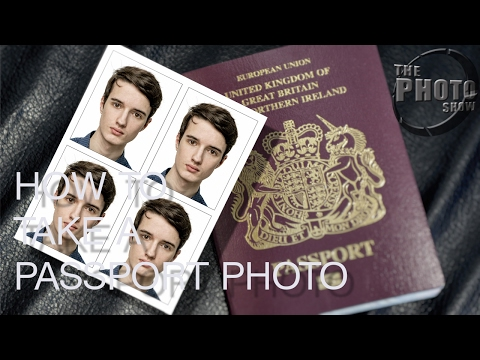 How To Take A Passport Photo Part 1: The Photo Shoot