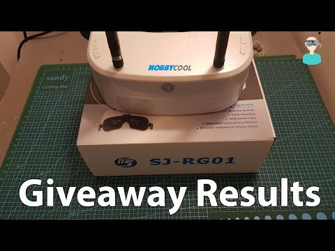 SJ-RG01 - FPV Goggles Giveaway Results