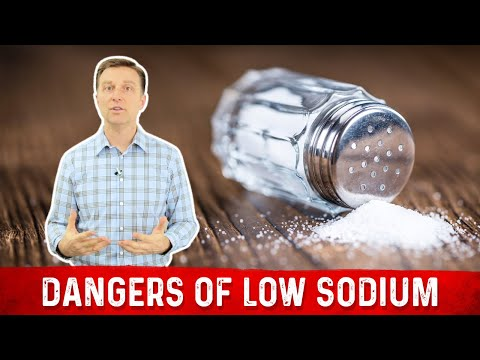The Dangers of Low Sodium