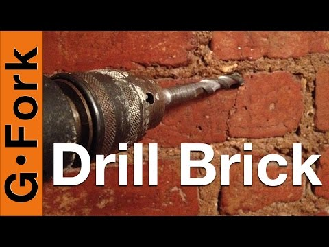 Drill Into Brick or the Mortar? - GardenFork