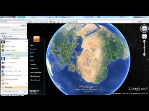 How to change language in Google Earth
