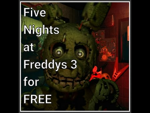 How to get Five Nights at Freddys 3 for FREE