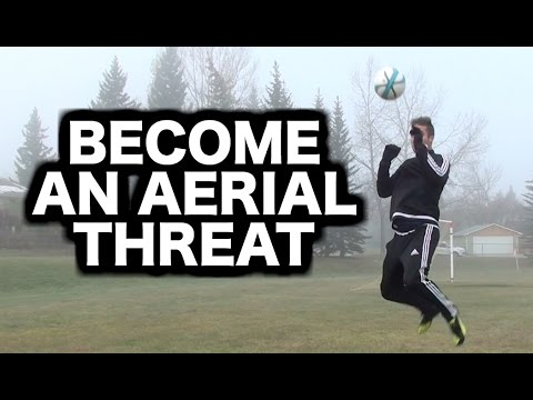 How to head a soccer ball with power ► How to head a football ( header tutorial )