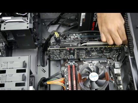 Digital Storm How-To #1: Remove Graphics Card